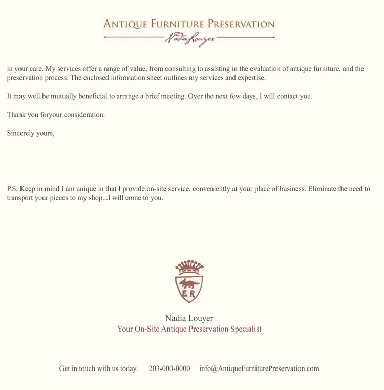 Antique Furniture Preservation